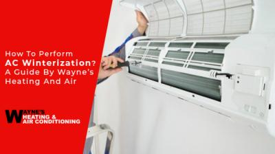 How to perform AC winterization? A guide by Wayne's heating and air